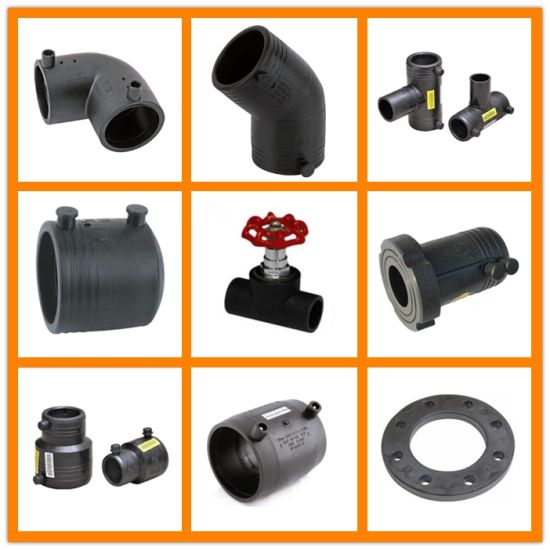PE HDPE Plastic Pipe Fitting of Electro Fusion Ef and Butt Heat Fusion Socket Weld pictures & photos