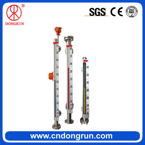 Favorable 304 Stainless Steel Magnetic Liquid Level Meter