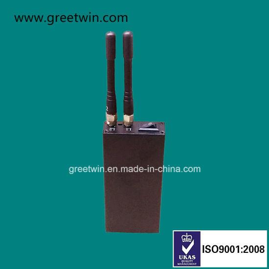 Handheld GPS Signal Jammers Anti GPS Tracking Device Omni Antennas (GW-JM2)