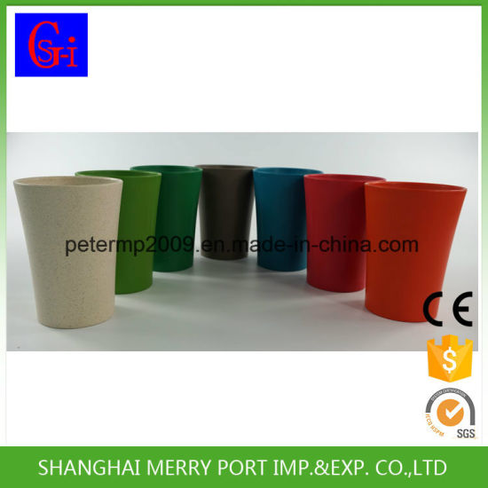 2017 New Products 350ml 12oz Wheat Fiber Drinking Cup pictures & photos