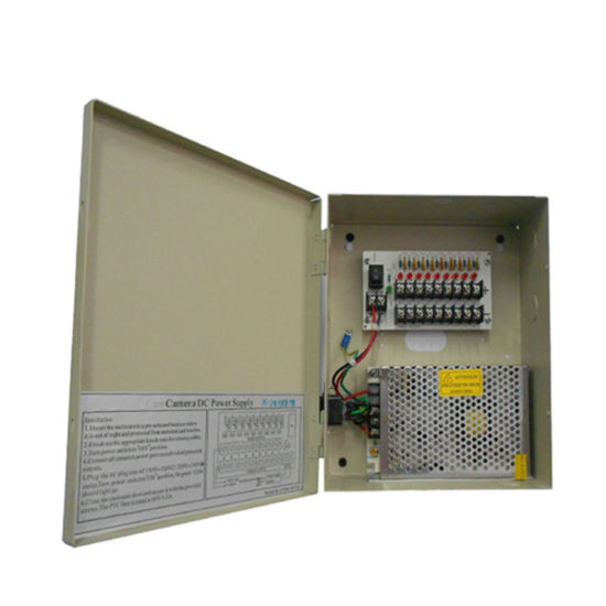 10A 12V CCTV Power Supply with Ce/IEC Approved (12VDC10A9P) pictures & photos