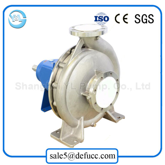 Stainless Steel Mechanical Seal End Suction Centrifugal Water Pump pictures & photos