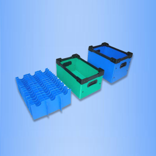 Chinese Supplier PP Hollow Sheet Conductive Turnover Box Cases pictures & photos