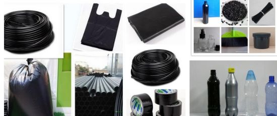 Plastic Balck Masterbatches Carbon Black Masterbatch for Injection Blowing pictures & photos
