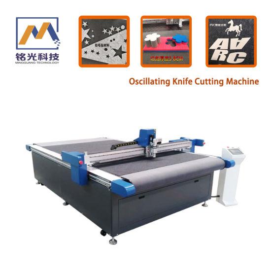 Vibratory Cutting Machine for Insulation Cloth Sponge \PVC \Leather Cutting