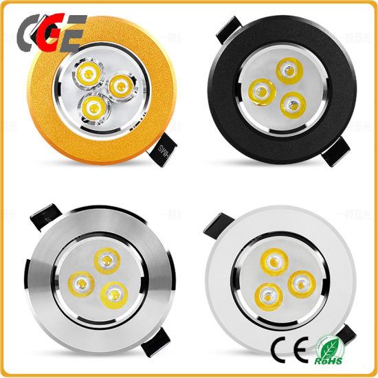 LED Down Light Most Popular Black Spotlights LED Down Light Shopping Malls, Office Use 7W/9W12W LED Spot Light