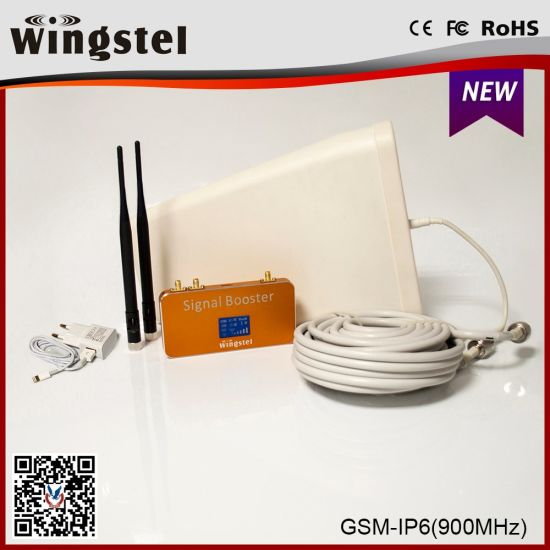 Wings GSM Cellphone Signal Booster for House 900MHz Repeater with Two  Indoor Antenna Ports