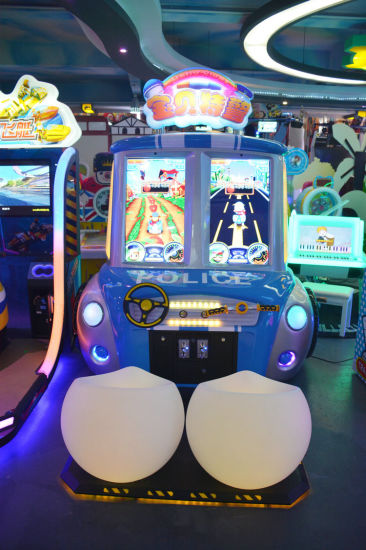 Amusement Park Coin Pusher Type Kids Driving Racing Game Machine pictures & photos