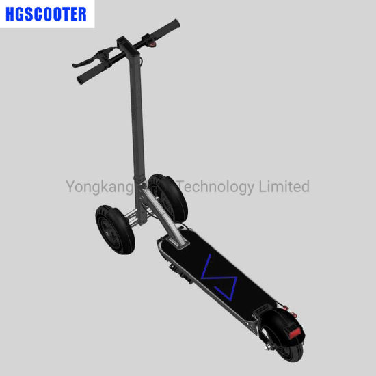 8inch Front 2 Wheels Unfolded Electric Scooter for Shared Project Rental Business