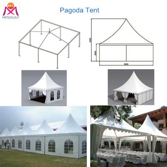 Exhibition Event Outdoor Luxury Aluminum Pagoda Tent