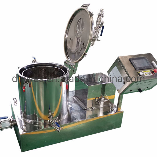 Automatic Control Soaking and Washing Ethanol Cbd Oil Extraction Centrifuge pictures & photos