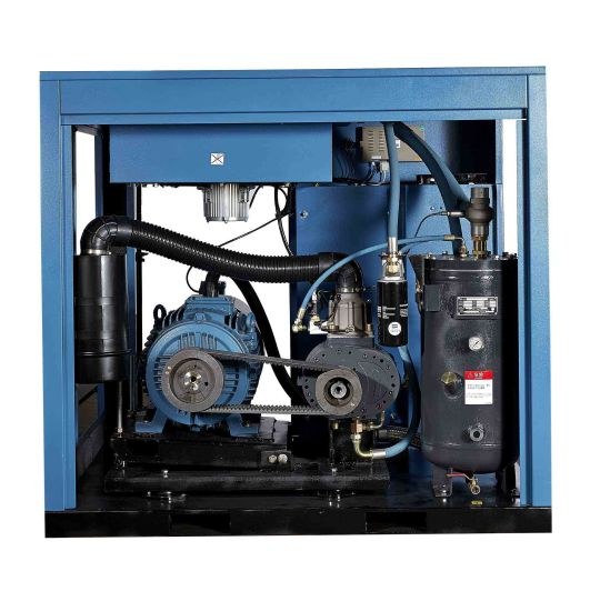 High Efficiency Industrial Screw Air Compressor with 8 Bar 50 pH pictures & photos