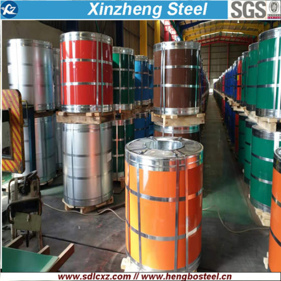 Ral Color 0.12mm-0.8mm PPGI Pre-Painted Galvanized Steel Coil
