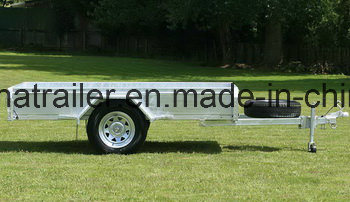 8 X 5 Ramp Single Axle Utility Trailer pictures & photos