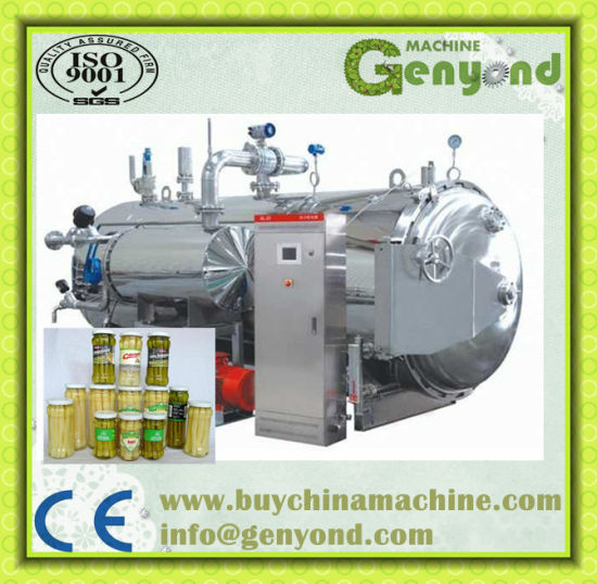 Steam Heating Hot Water Spray Type Sterilizer pictures & photos
