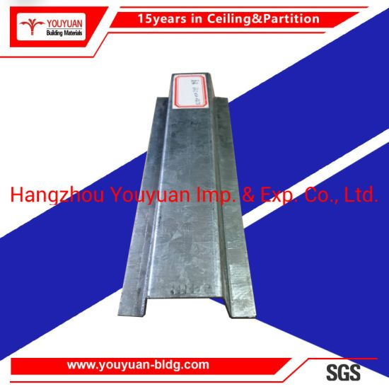 Steel Suspended Ceiling Materials Metal Channel Bar