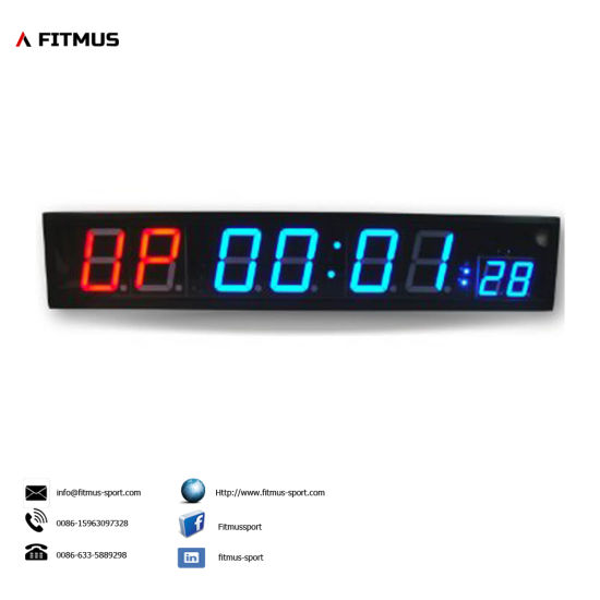 Crossfit Interval Timer 8 Digit Programmable Timer Boxing Timer Workout Timer Gym Timer Exercise Timer pictures & photos