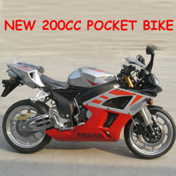 New 200cc Water Cooled Pocket Bike (MC-507)