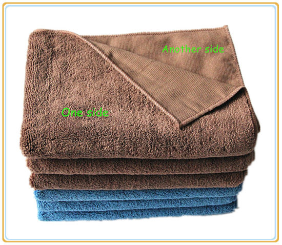 Popular Super Thick Microfiber Floor Mop Cloth pictures & photos