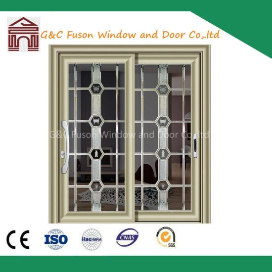Aluminum Sliding Doors Internal Blinds