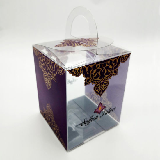 Beauty Logo Printed Clear Plastic Gift PVC Box Packaging