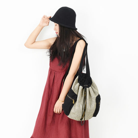 Low MOQ Bucket Backpack Casual Travel Street Shopping Women's Backpack