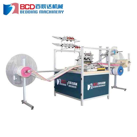 Wholesale 0.75kw Flat Lock Bed Mattress Sewing Machine Price