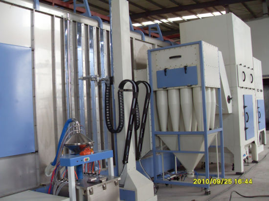 Cyclone-Type Powder Recovery Booth pictures & photos