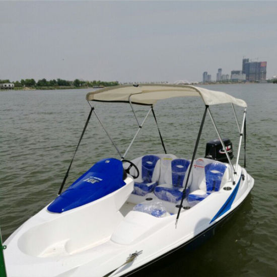 Hot Sale Standard Equipment Mini Sport Boat with 2 Stroke 90HP Outboard  Engine