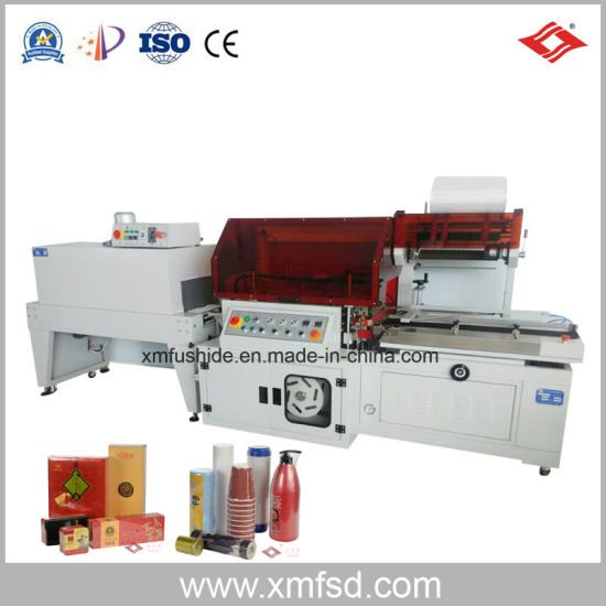 Fully Automatic L Type Hot (heat) Film Shrinkable Shrinking (Shrink) Sealer Sealing and Film Packing/Packaging/Wrapping/Wrap/Wrapper/Packer/ Package Machine