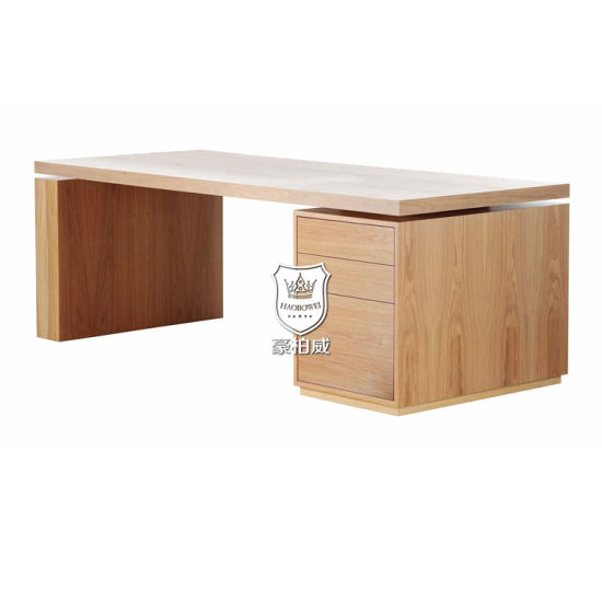 china white oak floating desktop 3 drawers writing desk designs