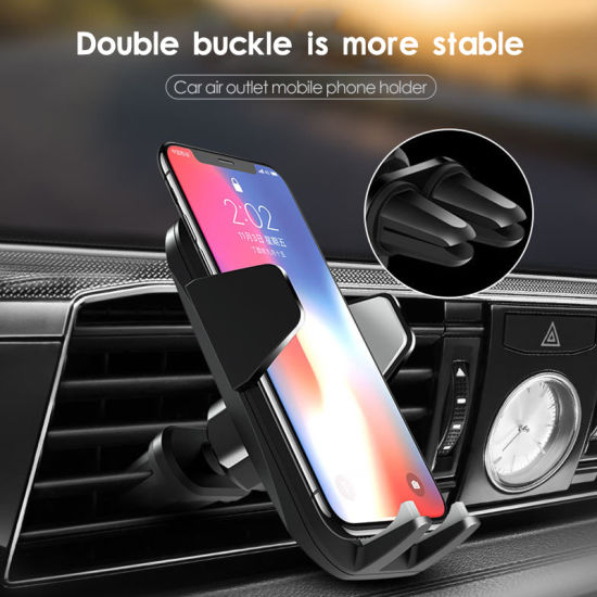 Car Mount Phone Holder Car Phone Accessories 360 Degree Rotatable Smartphone Car Air Vent Mount Holder Phone Stand Holders Universal Car Phone Holder