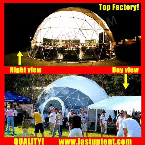 Made in China Geodome Diameter 18m Geodesic Dome Tent for Outdoor Marriage