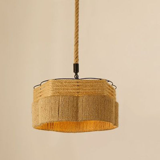 Home modern Pendant Lighting with Rope for Indoor Decoration
