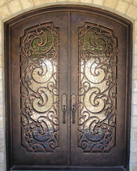 Factory Outlet Iron Garage Doors and Iron Entry Doors Grill & China Factory Outlet Iron Garage Doors and Iron Entry Doors Grill ...