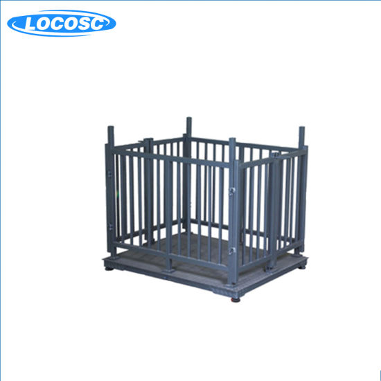 5t Electronic Animal Weighing Scale with Fence and Gate
