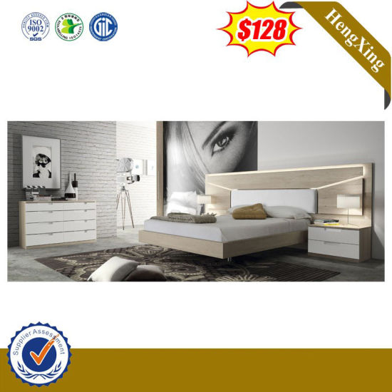 China Latest Design Livingroom Furniture King Size Double Bed