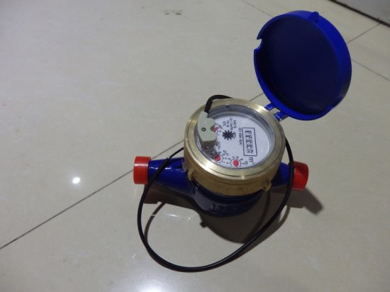 1/2'' Multi Jet Brass Pulse Water Meter From Factory