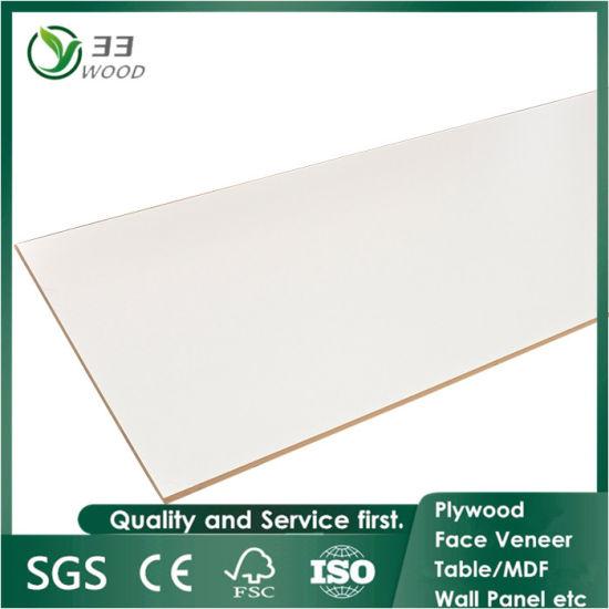 18mm Melamine Laminated Waterproof MDF, Wholesale Decorative Plywood Board