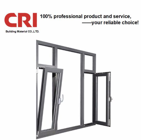 Foshan Factory Thermal Break UPVC PVC Aluminum Window Aluminum Alloy Round Casement Windows Aluminium Sliding Window Awning Glass Window Manufacturer