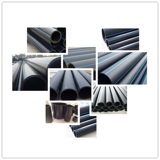 China PE100 Plastic Flexible Water Poly Pipe Reliance HDPE