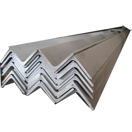 100*100*7mm Hot Dipped Galvanized Steel Angle Bar The Standard Q 235