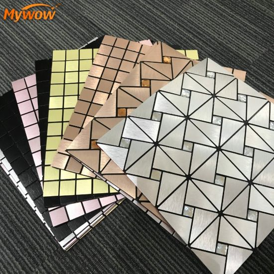 Wholesale Waterproof Vinyl 3D Tile Kitchen Mosaic Style Wall Stickers