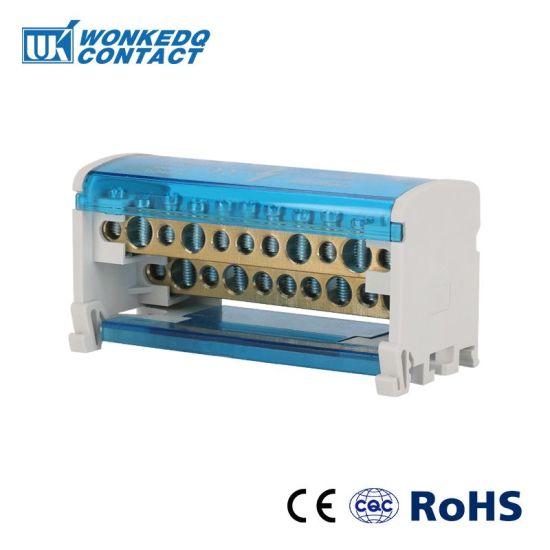 Wkh 211 Installation 35mm DIN Rail Terminal Block Power Distribution
