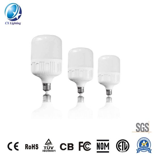 PC+Aluminum LED Bulb T60 13W 1200lm Equal to 100W Compact Fluorescent Lamp