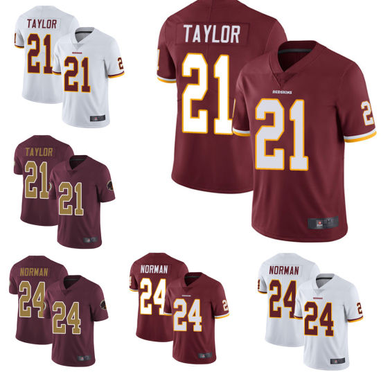 outlet store 35106 aa083 Washington Sean Taylor Josh Norman American Football Jersey