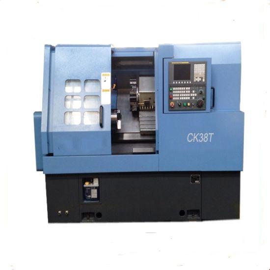 China CNC Automatic Lathe Machine Ck38t for Metal Cutting