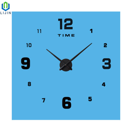 Creative Wall Clock Simple Digital Living Room Decorating acrylic Clock