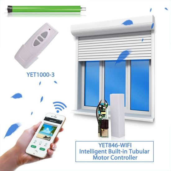 WiFi Smart Curtain Switch Control Electric Motorized Curtain Blind Roller Shutter