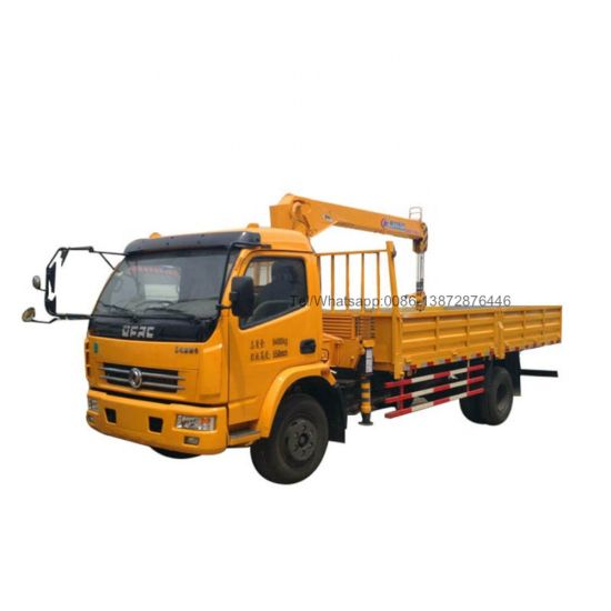 Dongfeng Dlk 120HP Euro2 Mobile Truck Mounted 3tons Crane